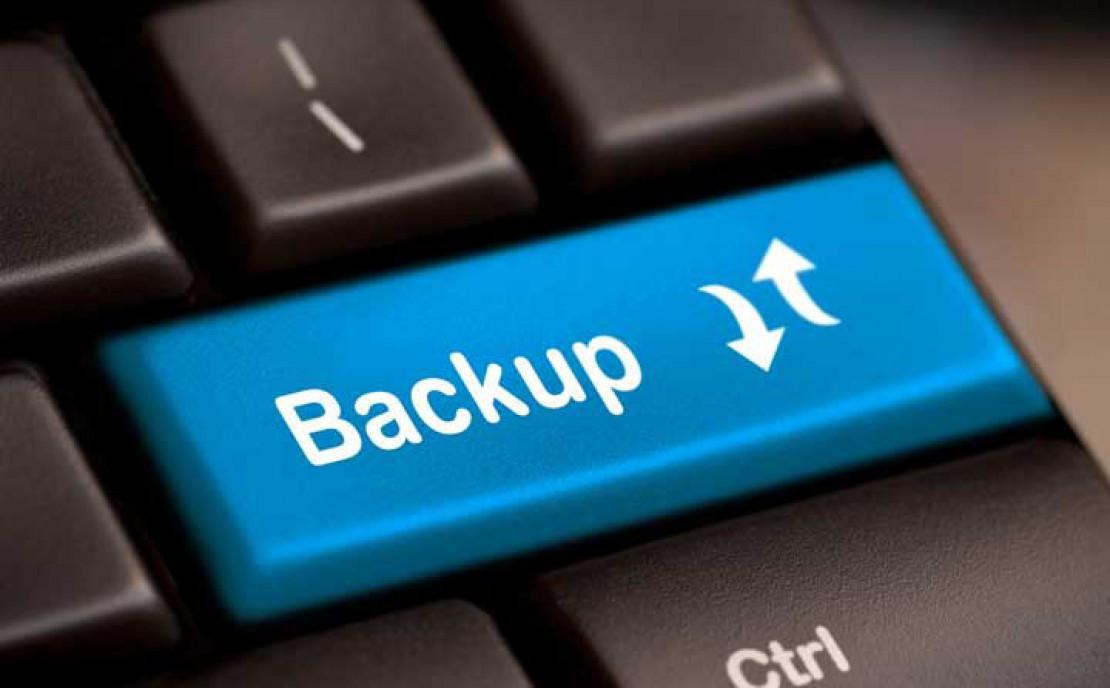 The importance of Backups